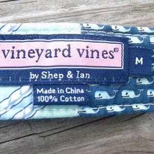 Vineyard Vines Accessories - VINEYARD VINES Fabric Belt Patchwork Golf Sailing